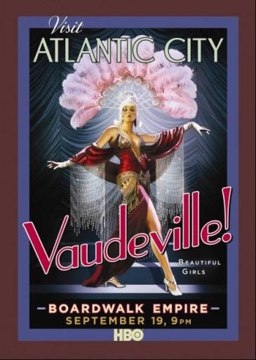 Boardwalk poster-vaudeville