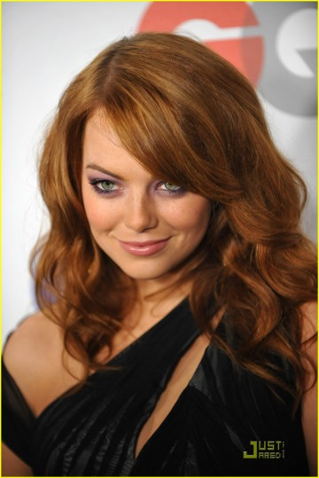Actress Emma Stone arrives for the 2009