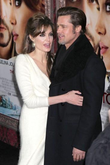 The Tourist Premiere - Angelina Jolie Brad Pitt