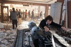 "Director Michel Gondry gets physical, ""The Green Hornet"" November 20, 2009"