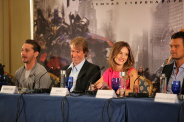 Transformers 3: Dark of the Moon Moscow Press Conference