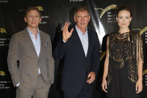 Cowboys & Aliens - Photocall - The 64th Festival del Film di Locarno