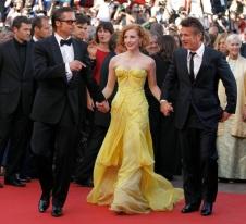 Brad Pitt, Jessica Chastain, Sean Penn
