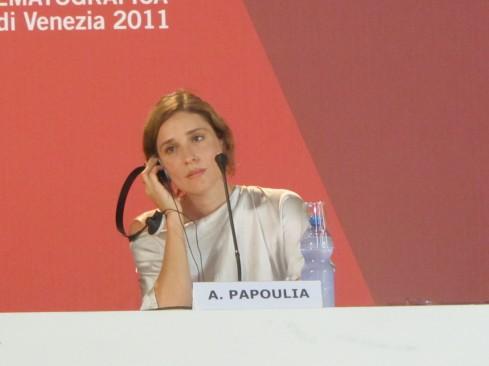 Venezia 2011 - Angeliki Papoulia - Alps
