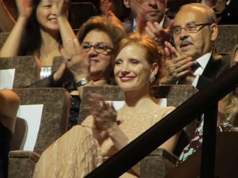 Venezia 2011 - Jessica Chastain - Wilde Salome 5