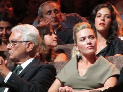 Venezia 2011 - Kate Winslett & Barattta