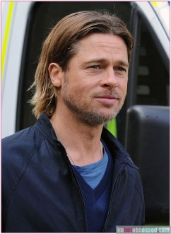 Brad Pitt Takes Over George Square For World War Z