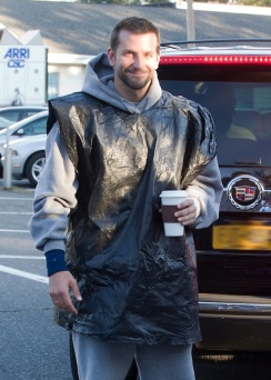 """Bradley Cooper On Set Of """"The Silver Lining Playbook"""" Filming in Lansdowne, PA"""