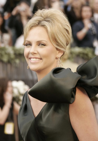 Actress Charlize Theron arrives 05 March