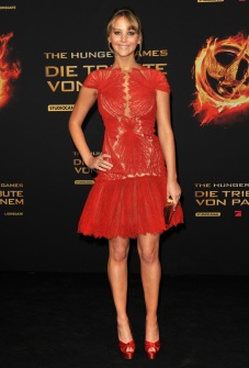The Premiere Of The Hunger Games In Germany