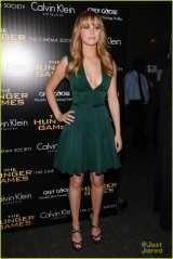 """The Cinema Society & Calvin Klein Collection Host A Screening Of """"The Hunger Games"""" - Inside Arrivals"""
