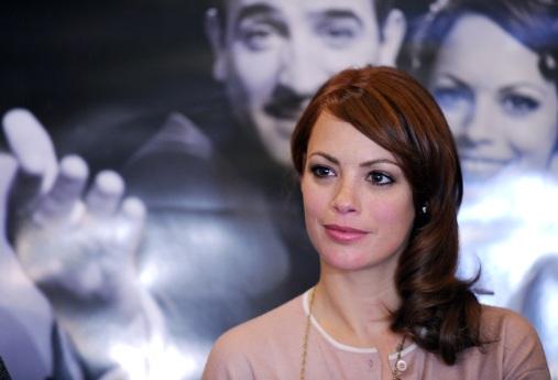 French actress Berenice Bejo, starred in