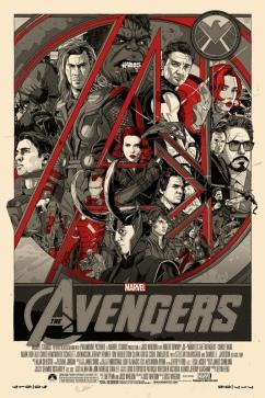 The avengers Mondo poster