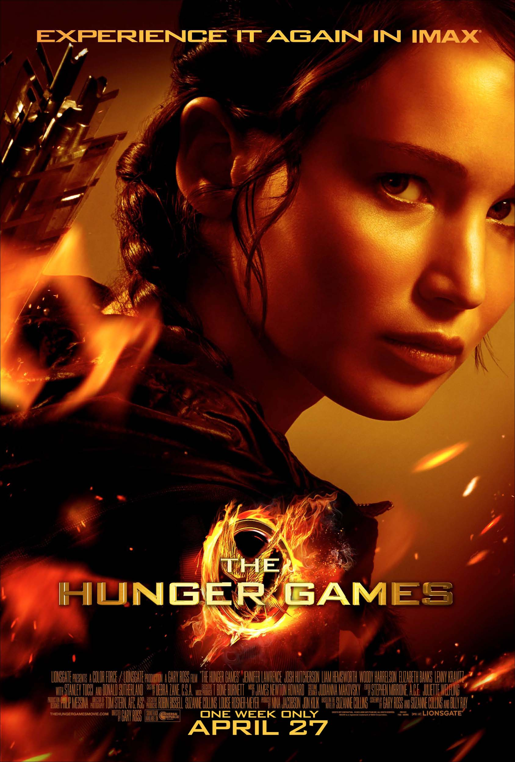 The hunger games imax poster1