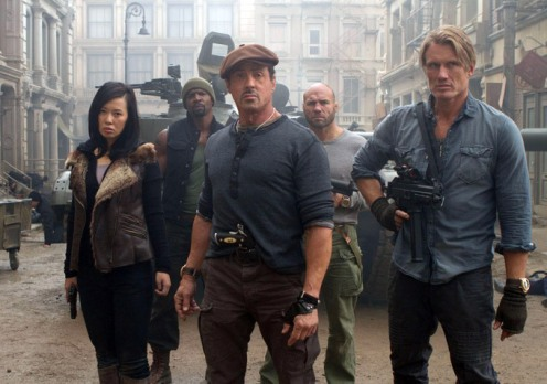 Yu-Nan-Sylvester-Stallone-Dolph-Lundgren-Terry-Crew-Randy-Couture-THE-EXPENDABLES-2