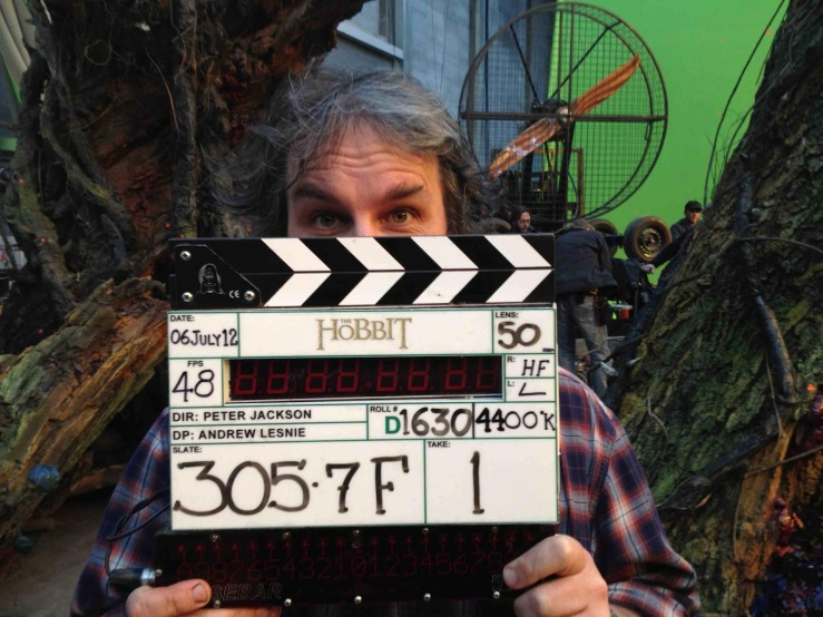 Peter Jackson The Hobbit wrap