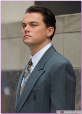 Leonardo DiCaprio On The Set Of 'The Wolf Of Wall Street'
