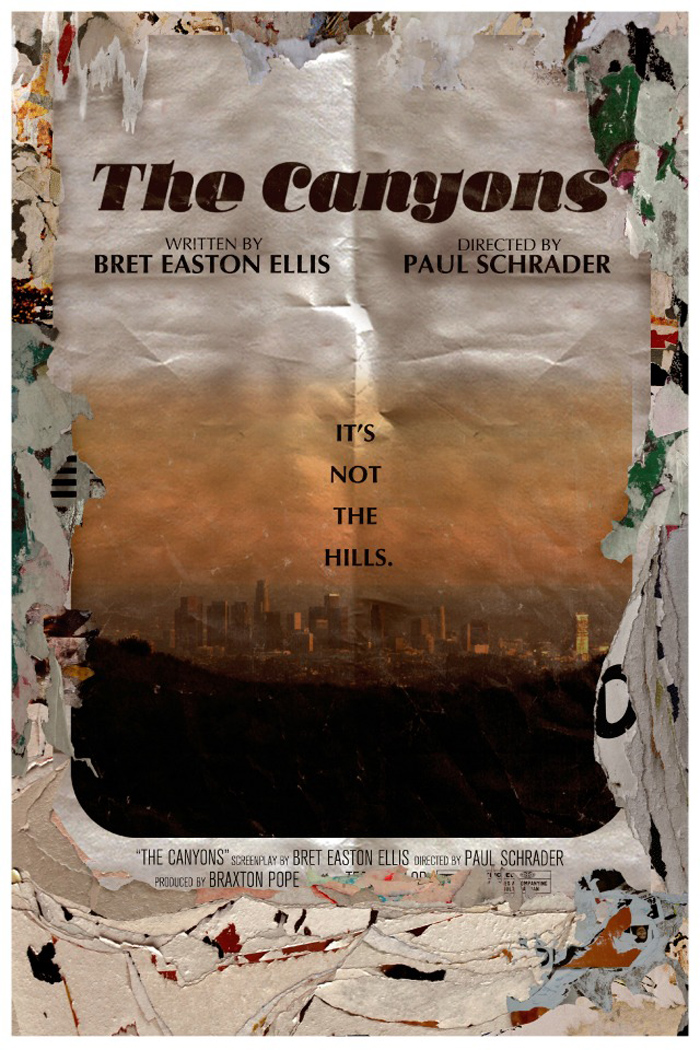 the-canyons-schrader-ellis-poster