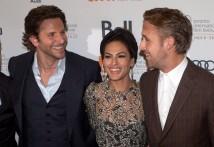 Ryan Gosling, Bradley Cooper, Eva Mendesj