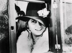 Portrait of Maria Schneider