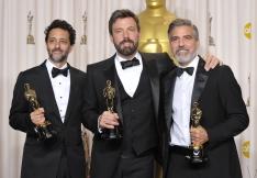 Grant Heslov, Ben Affleck, George Clooney
