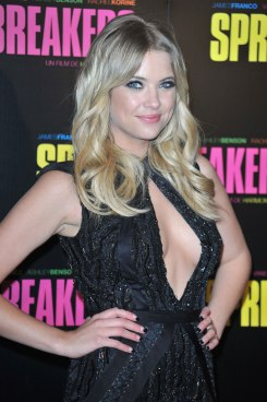 ASHLEY BENSON at Spring Breakers Premiere
