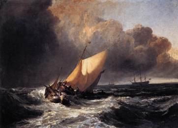 dutch-boats-in-a-gale