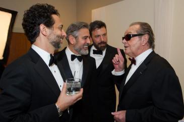 Nicholson Affleck Clooney Oscar