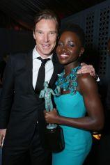 Lupita Nyong'o - Benedict Cumberbatch