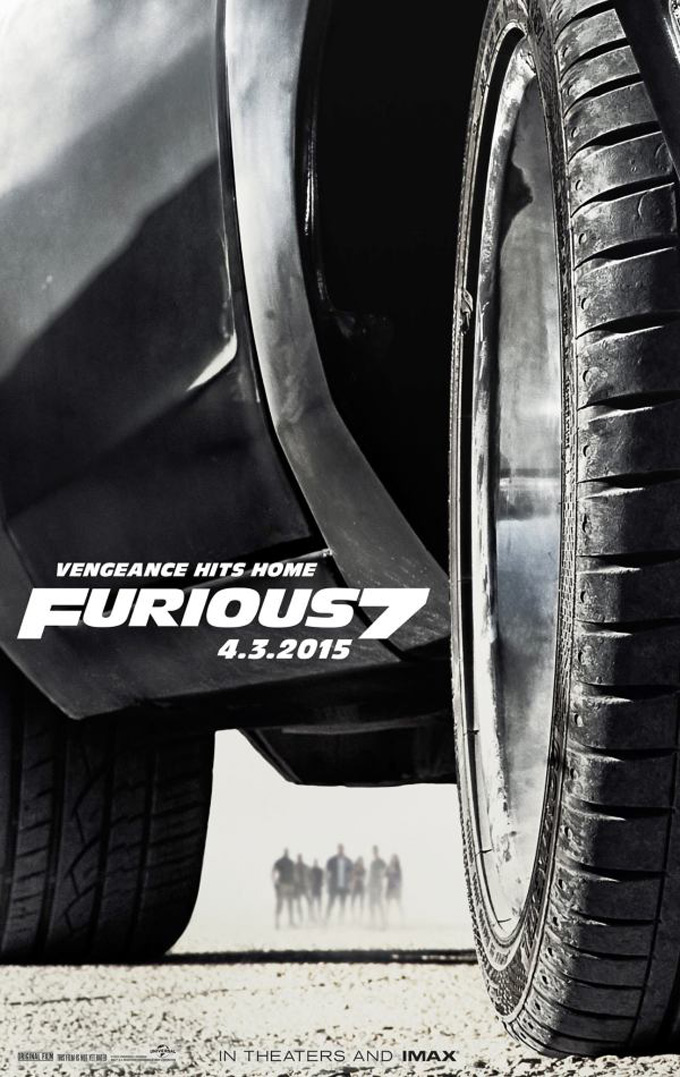 Fast 7 poster