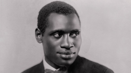 Portrait of Paul Robeson Smiling for Camera 1926