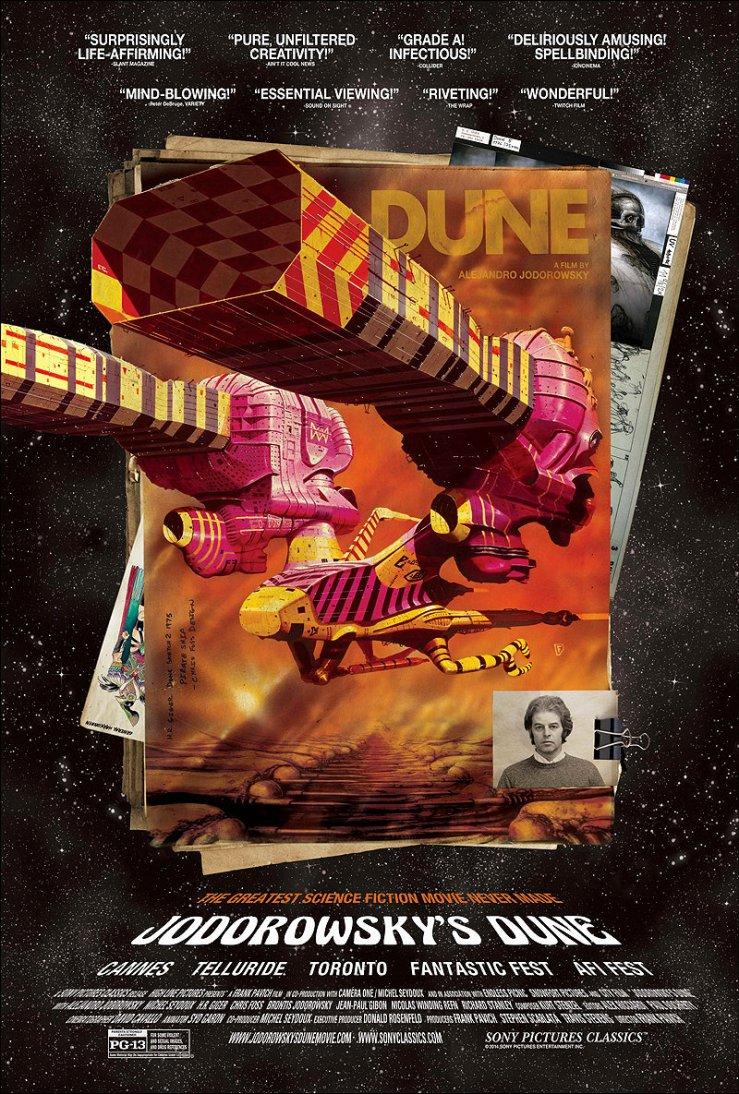Jodorowsky's Dune poster