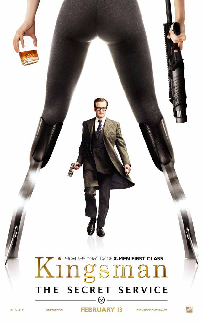 Kingsman-The-Secret-Service-Colin-Firth-Poster