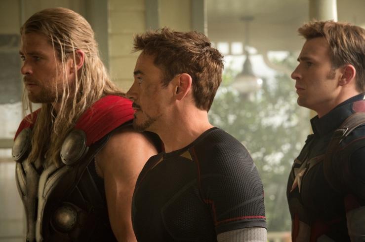 Thor Iron man Capitan america