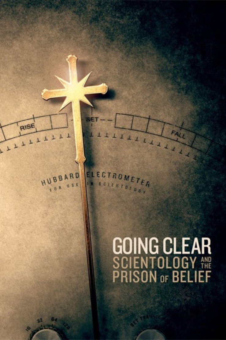 Going clear poster
