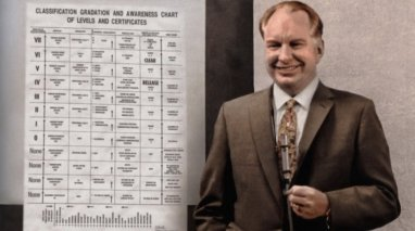Ron with chart