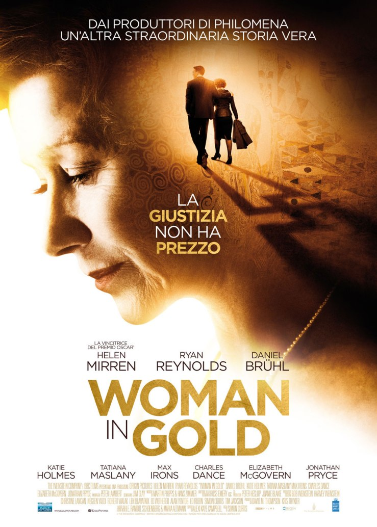 Woman in gold locandina