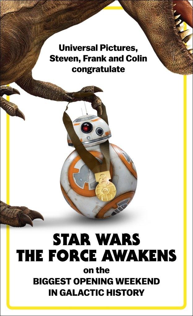 Star Wars winner