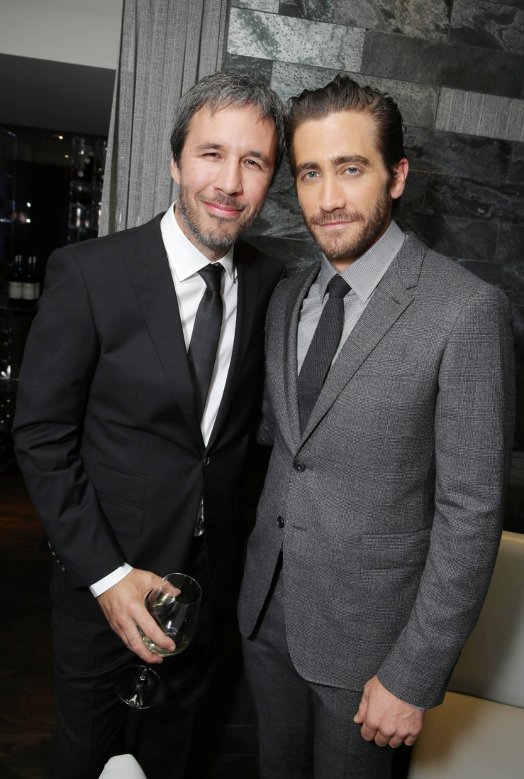 IMAGE DISTRIBUTED FOR WARNER BROS. - Director Denis Villeneuve and Jake Gyllenhaal seen at Warner Bros. 'Prisoners' Premiere at 2013 TIFF presented by Audi, on Friday, Sep, 6, 2013 in Toronto. (Photo by Eric Charbonneau/Invision for Warner Bros. Pictures/AP Images)