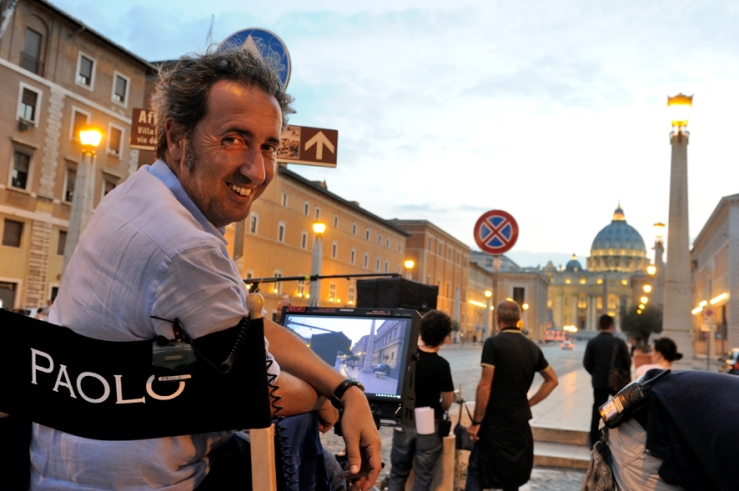 "set of ""The young Pope"" by Paolo Sorrentino. 08/10/2015 sc.210 - ep. 2 in the picture Paolo Sorrentino. Photo by Gianni Fiorito"