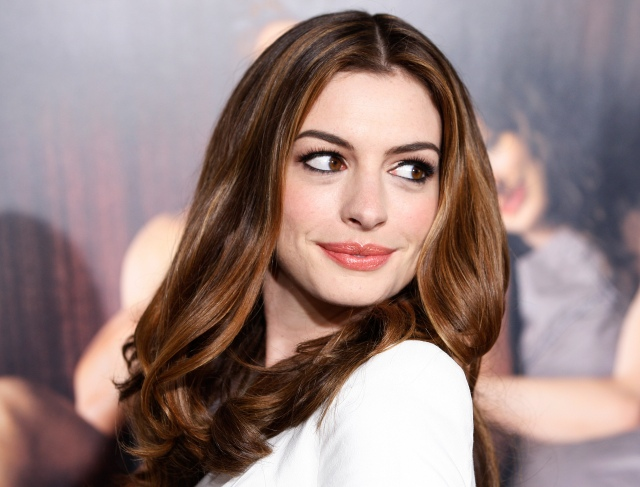 Actress Anne Hathaway poses at the world premiere of 'Love & Other Drugs' at AFI Fest 2010 in Hollywood