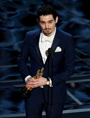 HOLLYWOOD, CA - FEBRUARY 26: Director Damien Chazelle accepts Best Director for 'La La Land' onstage during the 89th Annual Academy Awards at Hollywood & Highland Center on February 26, 2017 in Hollywood, California. (Photo by Kevin Winter/Getty Images)