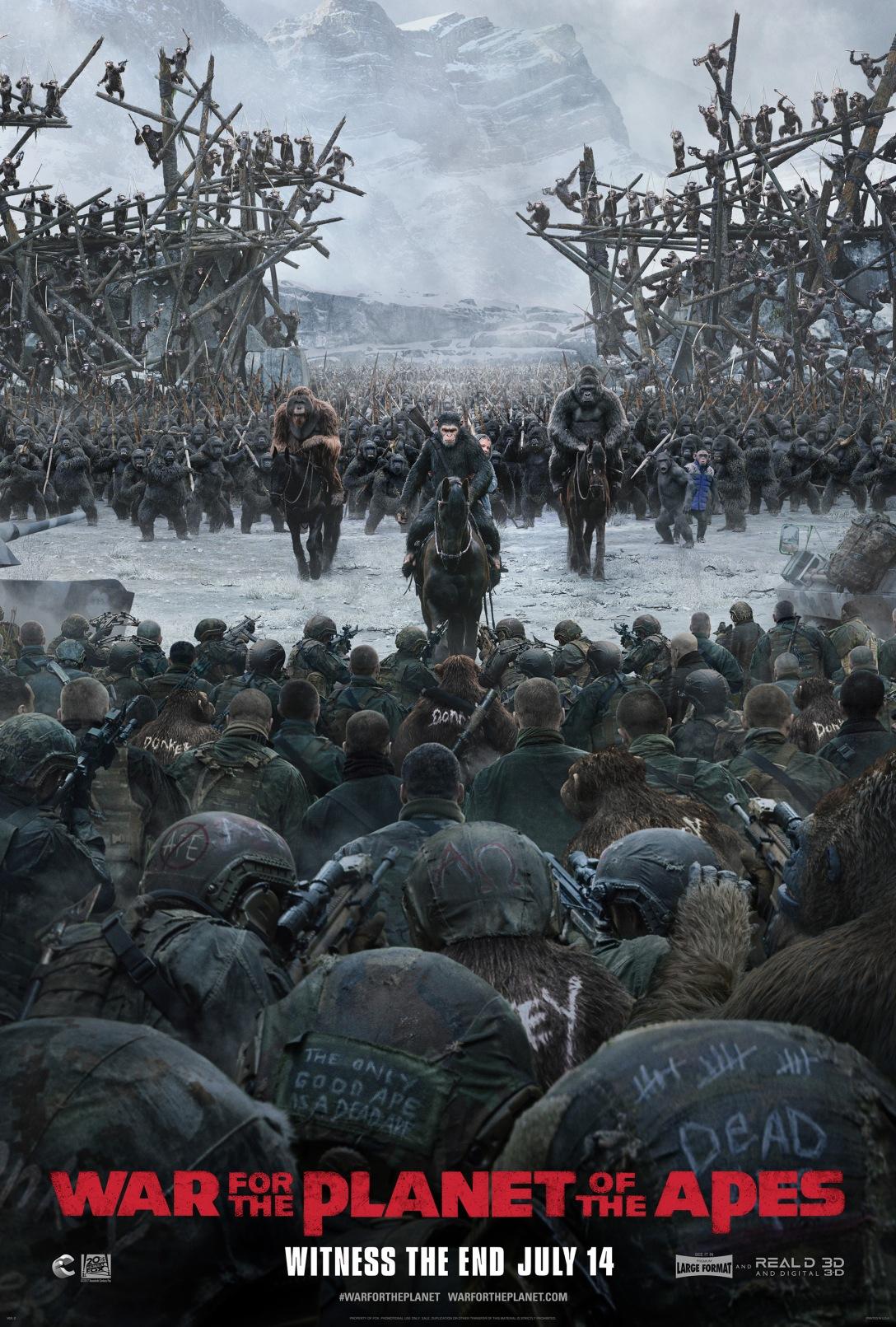 The War – Il pianeta delle scimmie: l'ultimo trailer online ...