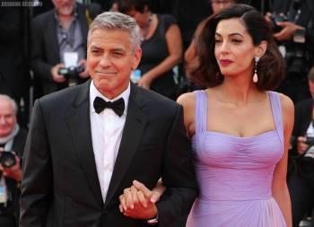 Amal e George Clooney - Red Carpet