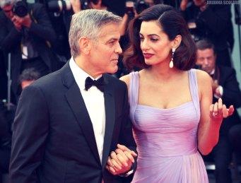 George Clooney e Amal Clooney - Venice Film Festival 2017
