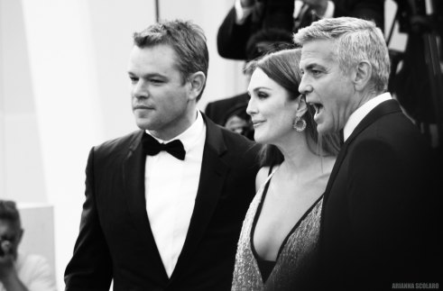 Matt Damon Julianne Moore George Clooney - Suburbicon