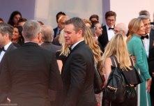 Matt Damon red carpet Suburbicon