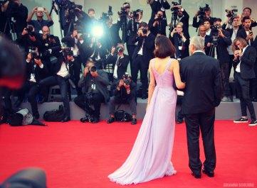 Red Carpet Amal & George Clooney