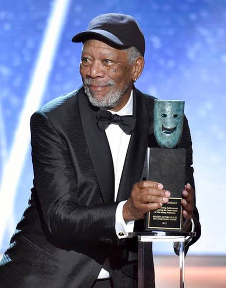 Morgan Freeman SAG 2