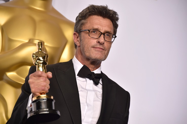 Mandatory Credit: Photo by Jordan Strauss/Invision/AP/REX/Shutterstock (9055040hc) Pawel Pawlikowski poses in the press room with the award for best foreign language film for â??Idaâ?? at the Oscars, at the Dolby Theatre in Los Angeles 87th Academy Awards - Press Room, Los Angeles, USA